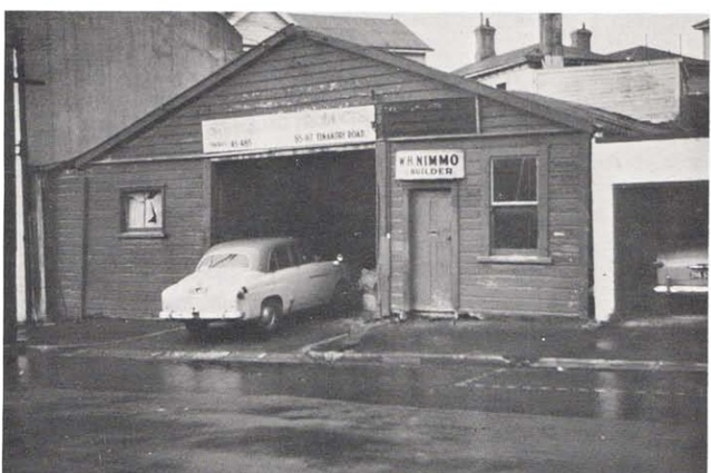 The garage in Wellington where Ted Nightingale started it all in 1946.