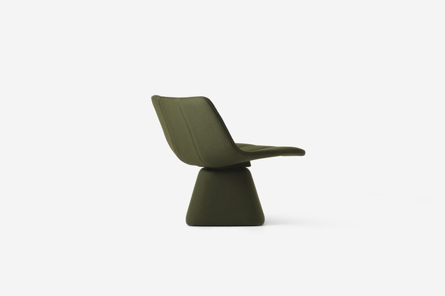 Resident Volley Swivel Chair by Jamie McLellan.