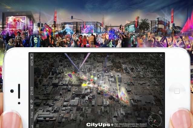 FESTA 2014's headline event, CityUps, involves physical installations and virtual visions for Christchurch's future.