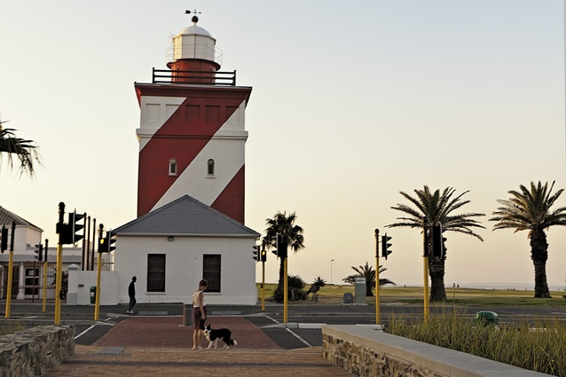 The lighthouse in Mouille Point, built in 1824.