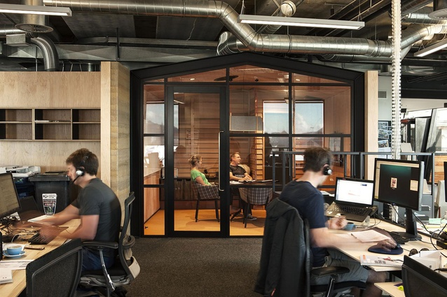 Finalist: Workplace (over 1,000m2) – Icebreaker (Auckland) by Jasmax.