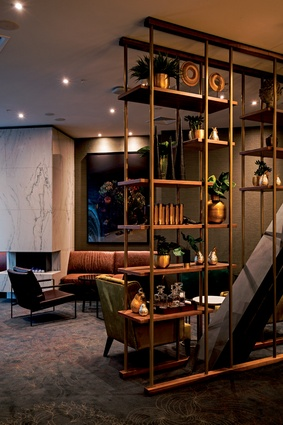 Variety in colour, texture and detailing is an overarching theme of this hotel.