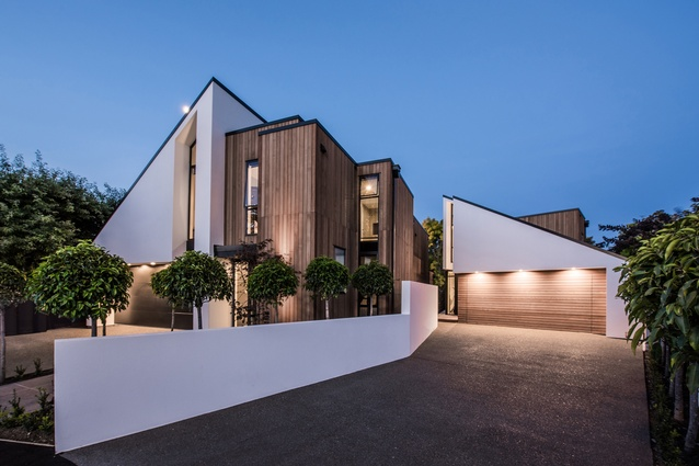 Residential Multi-Unit Dwelling Architectural Design Award: Gleneagles Terrace, Christchurch by Craig South of Cymon Allfrey Architects.