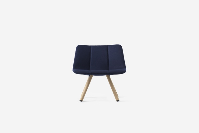 Resident Volley Four Leg Chair by Jamie McLellan.