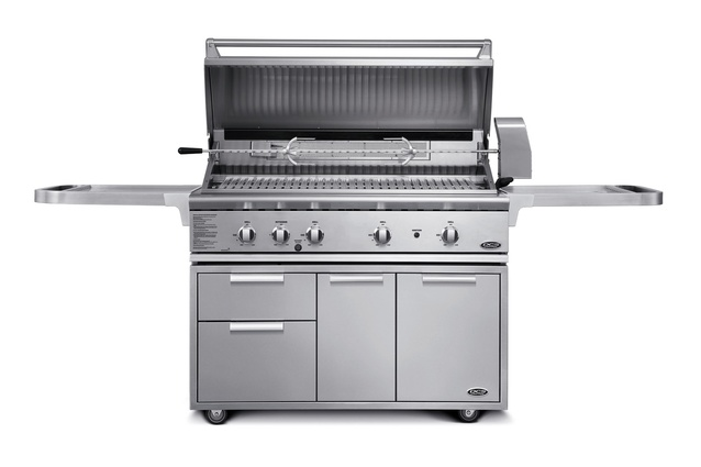"Fisher & Paykel DCS 48"" All Grill on Cart 