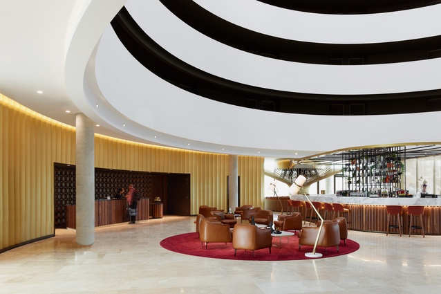 Canberra Airport Hotel (ACT) by Bates Smart.