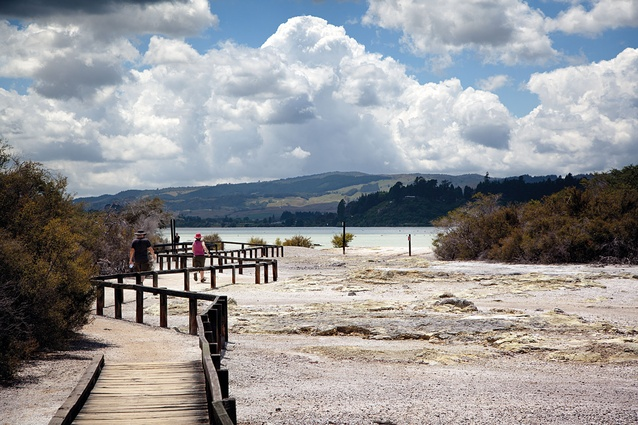 Rotorua's thermal activity has always been the citys main tourist attraction.