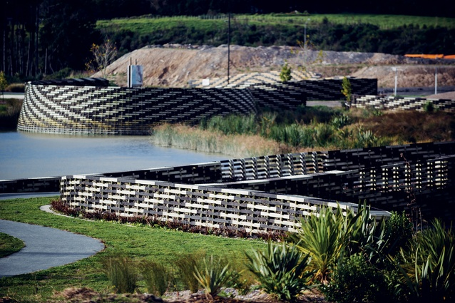 World Landscape of the Year: Kopupaka Reserve in Whenuapai, West Auckland, designed by Isthmus.