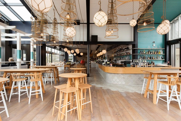 Finalist: Hospitality – Regatta (Takapuna, Auckland) by ctrl Space.
