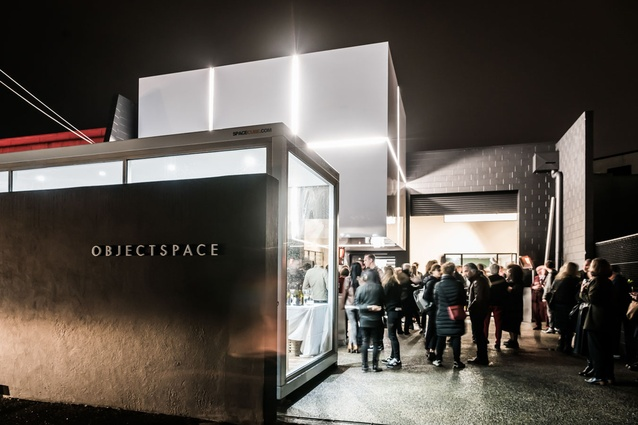 The re-opening of Objectspace on Rose Road, Ponsonby took place on Thursday 27 July. The gallery opened to the public on Friday.