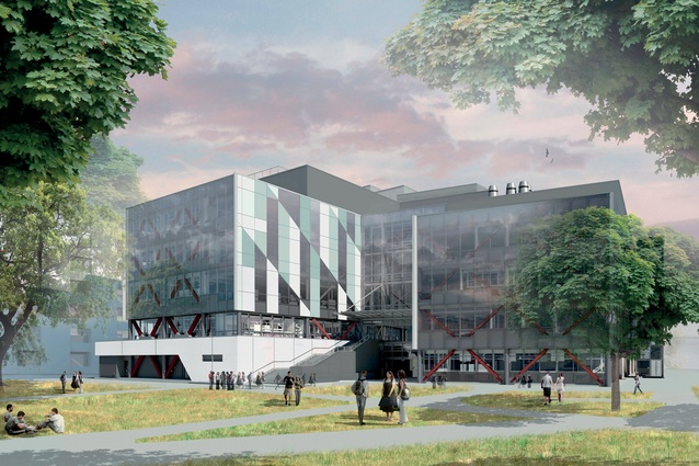 Foote worked on the University of Canterbury's Rutherford Regional Science and Innovation Centre.