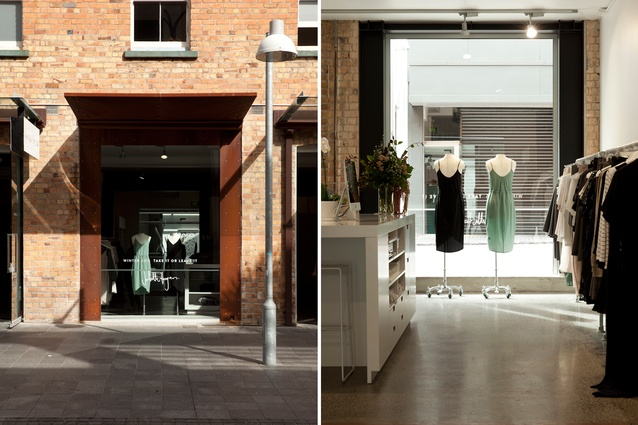 The new store is located on Osbourne Street within a 1906 brick-clad heritage warehouse.