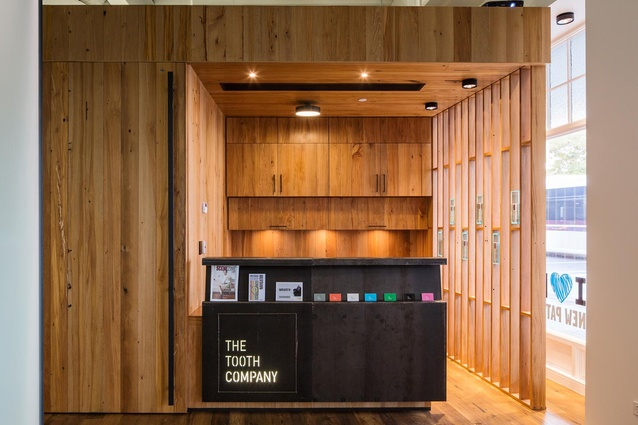 Finalist: Retail – The Tooth Company, Britomart by Herbst Maxcey Metropolitan Architects.