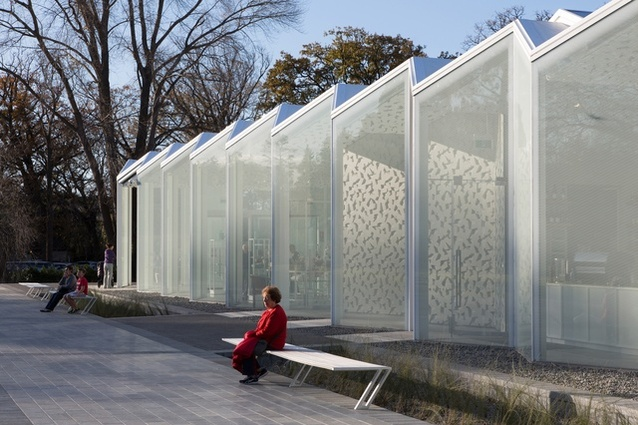 The Christchurch Botanic Gardens Visitor Centre by Patterson Associates.