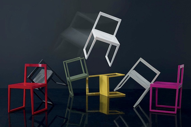 Silla Chair For Ziru At The 2012 Milan Furniture Fair.