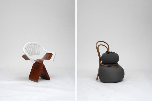 In 2007 Martino Gamper set himself the challenge of reinvesting 100 found chairs in 100 days.