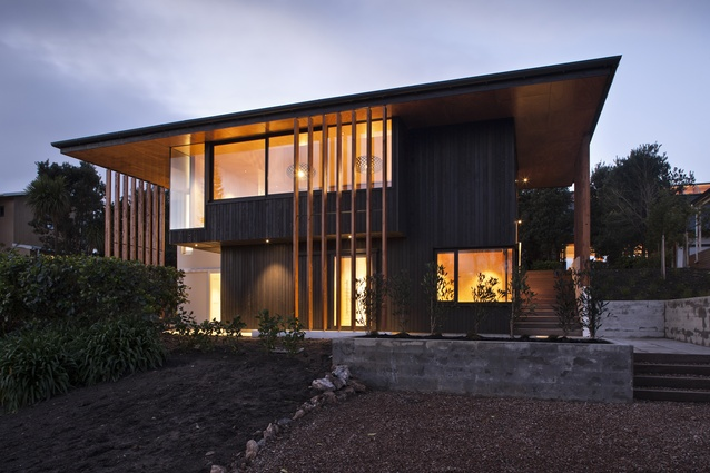 Housing category finalist: Number 5, Waiheke, Auckland by Architectus.