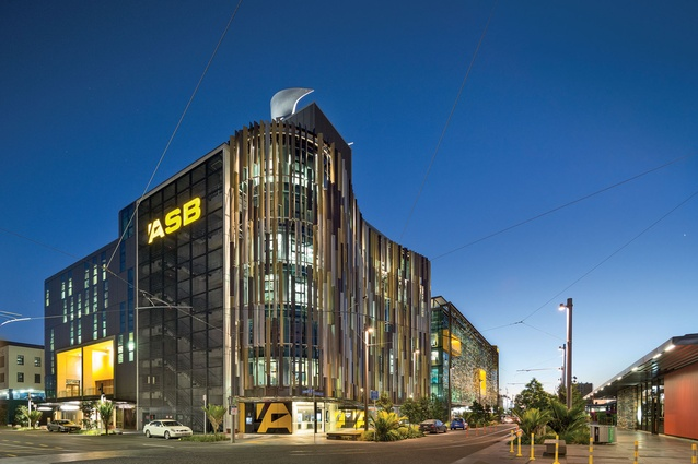 The ASB North Wharf building won the 2014 New Zealand Architecture Medal