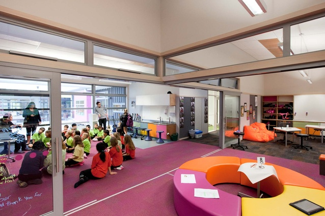 Amesbury School (Churton Park) by McKenzie Higham Architecture.