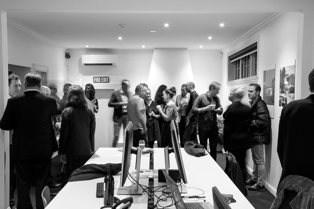 Guests at the HMOA Parnell studio opening.