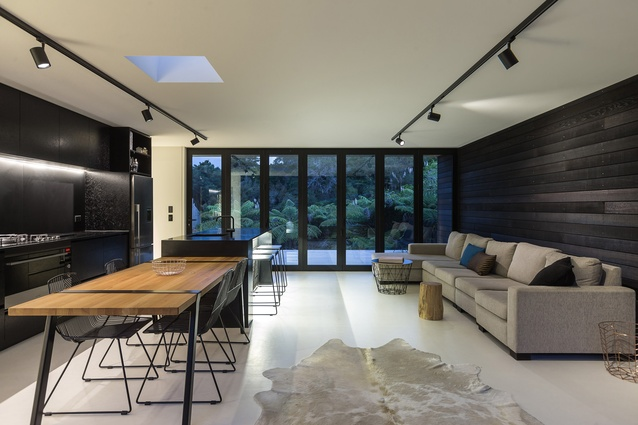 Interior of EMAHOUSE, Waiheke.