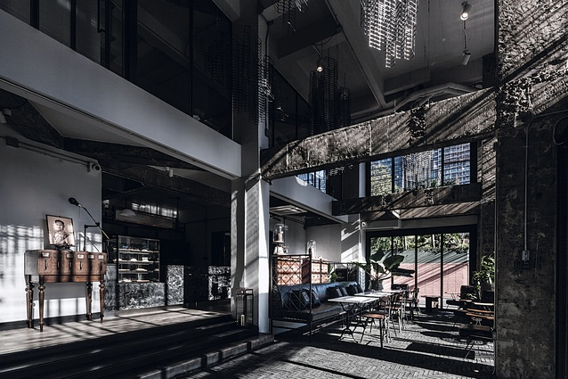 Ir-On Hotel in Bangkok, Thailand, by Hypothesis Design Agency.