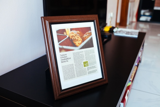 In Ahmed's world, a great recipe is worthy of being framed!