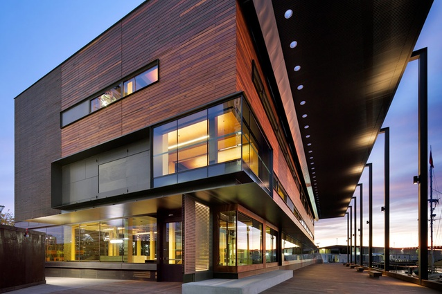 Library at the Dock in Melbourne was awarded Australia's first 6 Star Green Star rating for a public building.