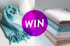 Win a Koza Turkish towel set