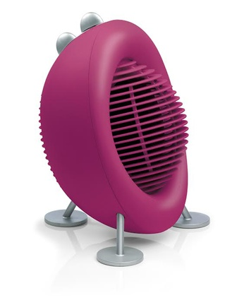 Stadler Form's <em>Max</em> heater in berry.
