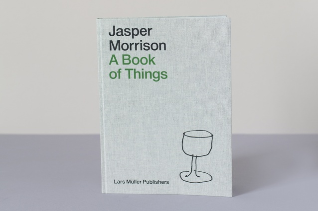 """A Book of Things by Jasper Morrison 
