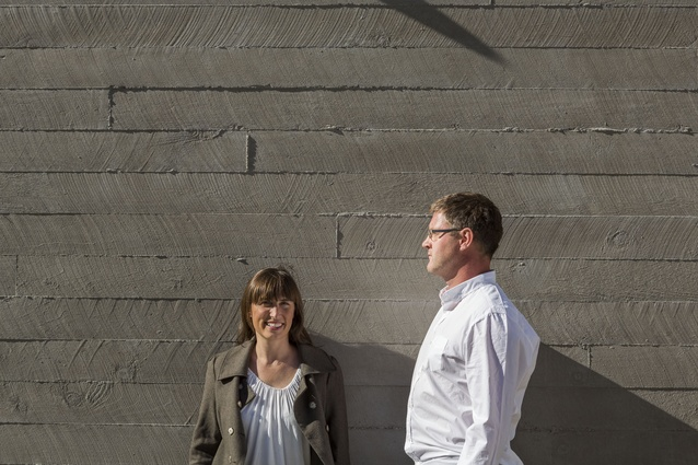 Queenstown architects Siân Taylor and Mark Read.