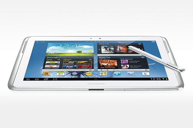 For her: Samsung Galaxy Note 10.1'' 16GB with WiFi, $799; harveynorman.co.nz
