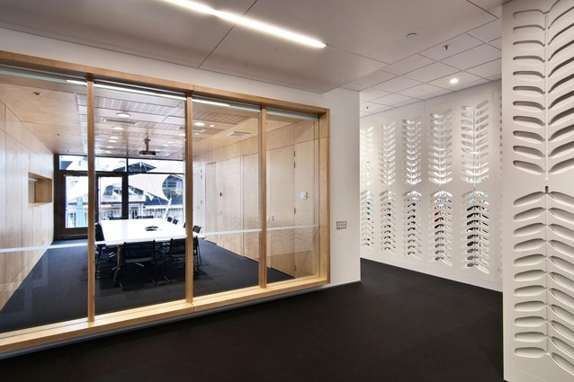 Soltius Offices (Wellington) by Herriot + Melhuish: Architecture Ltd.