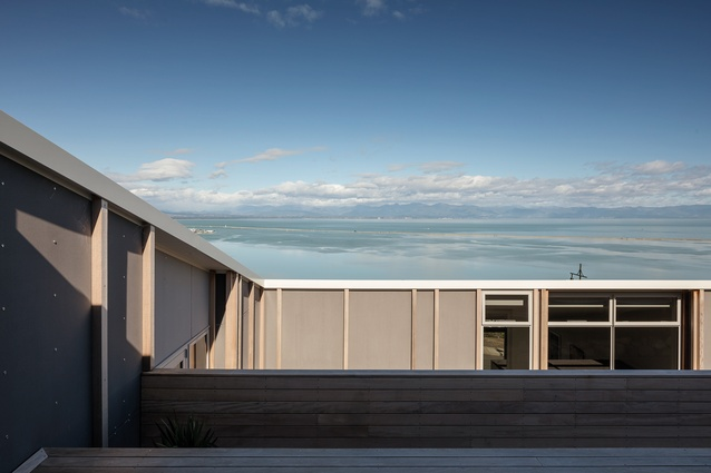 The main living wing enjoys incredible views over the ocean.