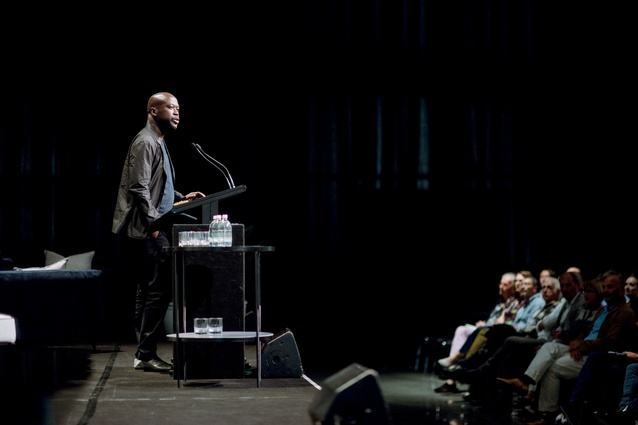 The first day concluded with a talk from Sir David Adjaye of Adjaye Associates.