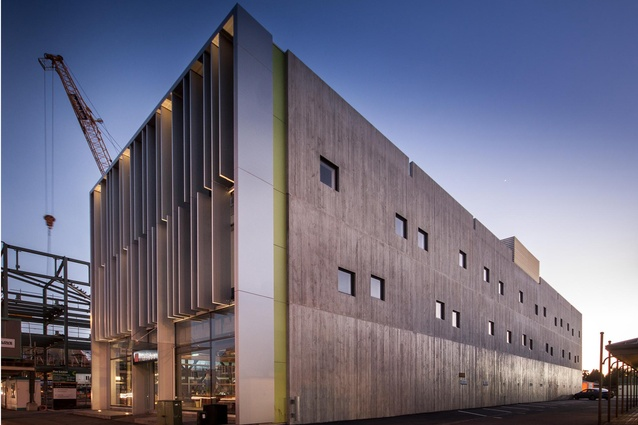 Commercial Architecture Award: Young Hunter House by Sheppard & Rout.