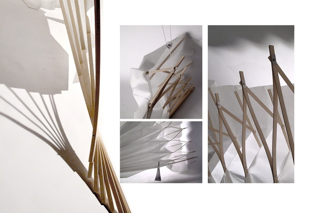 An interactive installation that was part of Beth's 2014 Masters thesis project <em>Embodied Architecture</em>.