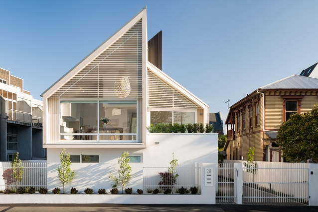 Housing – Multi-Unit Award: 26 Salisbury Street Townhouses by Warren and Mahoney Architects.