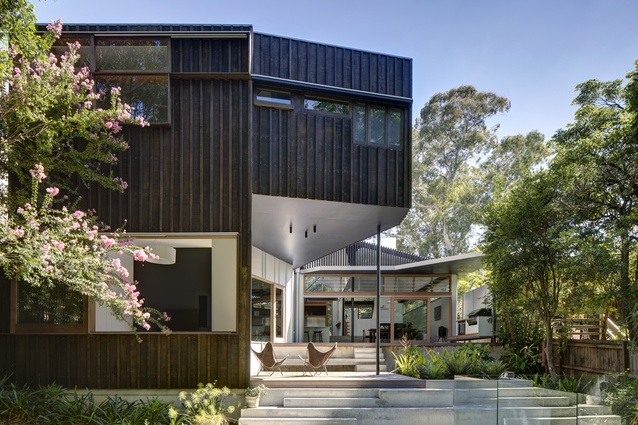 Riverview House by David Boyle Architect.