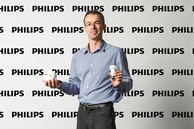 David Procter, Marketing Manager Philips.
