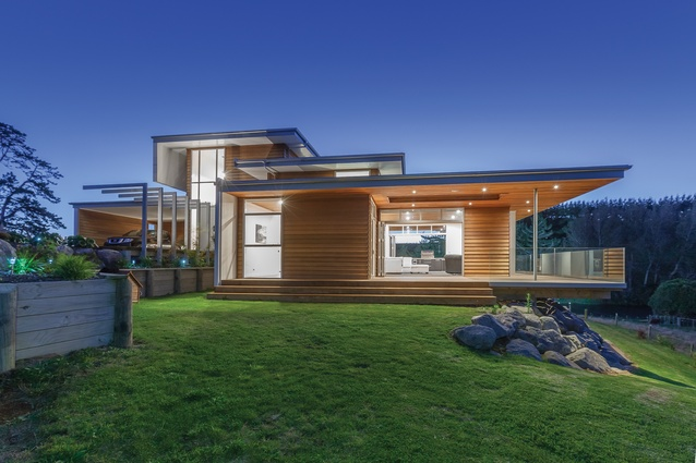 Taranaki, Whanganui and Manawatu Regional Award: May Residence by Imagine Building Design.