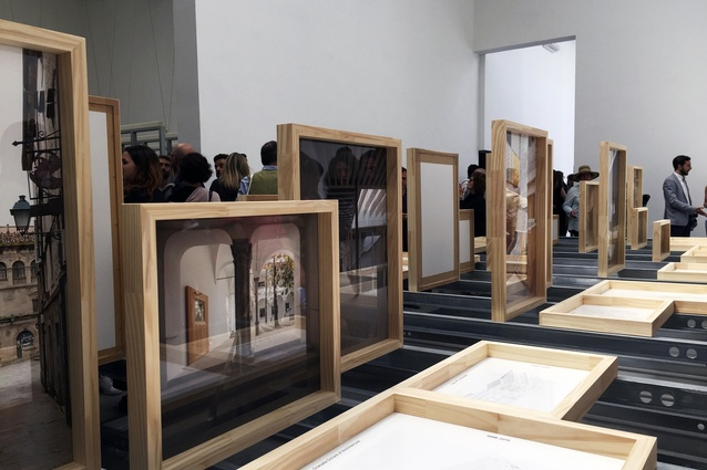 Unfinished exhibition at the Spanish pavilion is the winner of the Golden Lion Award at the 2016 Venice Architecture Biennale.