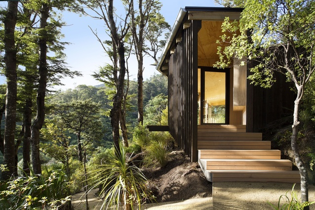 Small Project Architecture Award: Days Bay Yoga Studio by Paul Rolfe Architects.
