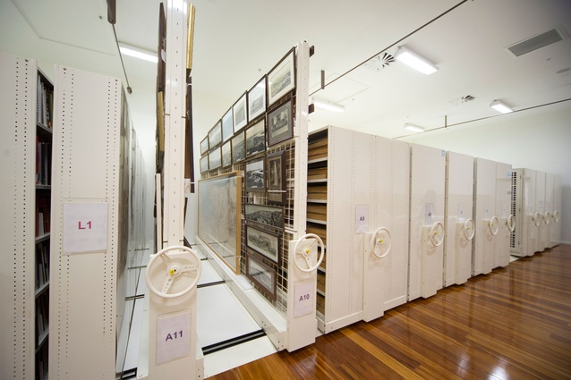 The archive room  at MTG Hawke's Bay.