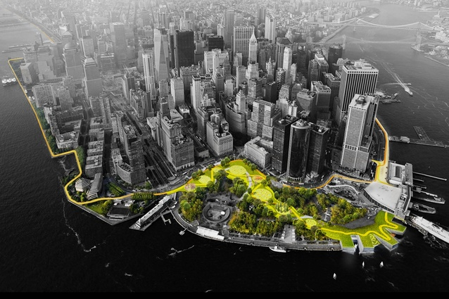 Bjarke Ingels' New York Dryline: a new-generation flood protection project.