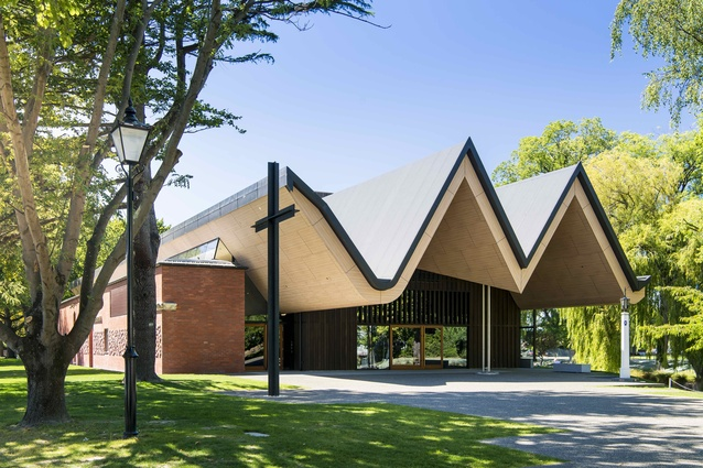 Construction Marketing Services Education Project Award: St Andrew's College Centennial Chapel, Christchurch.