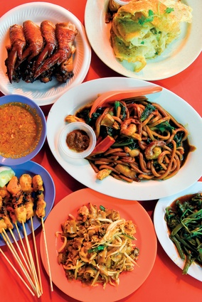 A wide range of cheap, delicious food is available in Kuala Lumpur.