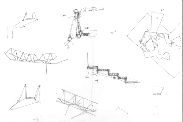 Concept sketches by Martin Bryant.