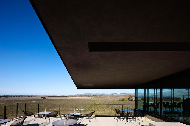 Brancott Estate Heritage Centre by Fearon Hay Architects.